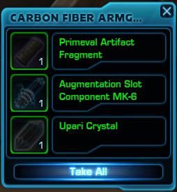 Mk augment slot
